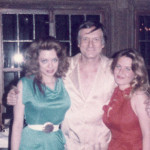 Charlotte Laws, Hugh Hefner and a friend