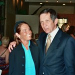 Charlotte Laws and Dennis Kucinich