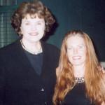 Dianne Feinstein & Charlotte Laws
