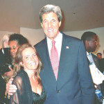 Charlotte Laws and Senator John Kerry