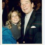 Charlotte Laws & Pres Ronald Reagan