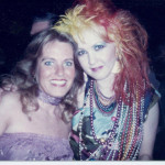 Charlotte Laws and Cyndi Lauper