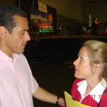 Mayor Antonio Villaraigosa and Charlotte Laws