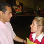 Mayor Antonio Villaraigosa and Charlotte Laws