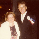 Charlotte Laws and Robert Stack