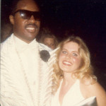 Stevie Wonder and Charlotte Laws