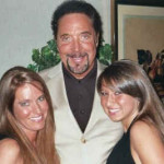 Charlotte Laws, Tom Jones and Charlotte's daughter