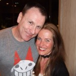 Colin Quinn and Charlotte Laws