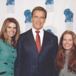 Maria Shriver, Arnold Schwarzenegger and Charlotte Laws