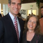 Charlotte Laws and Mayor Eric Garcetti