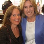 Charlotte Laws and Wendy Greuel