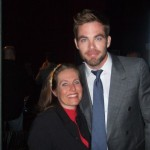 Charlotte Laws and Chris Pine