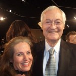 Charlotte Laws and Roger Corman