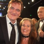 Quentin Tarantino and Charlotte Laws