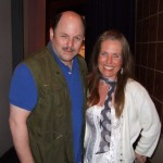 Charlotte Laws and Jason Alexander
